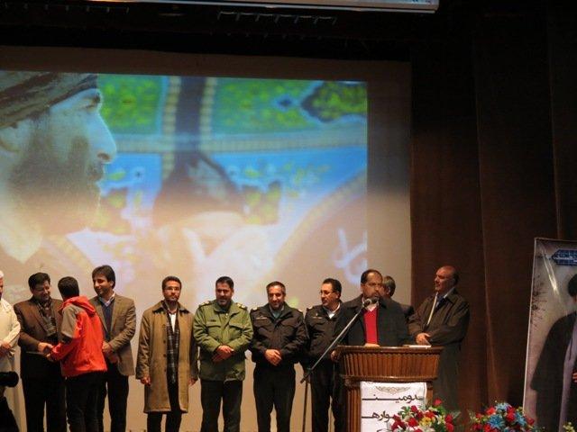 اختتامیه دومین سوگواره ملی قاب شیدایی در بیجار برگزار شد+عکس